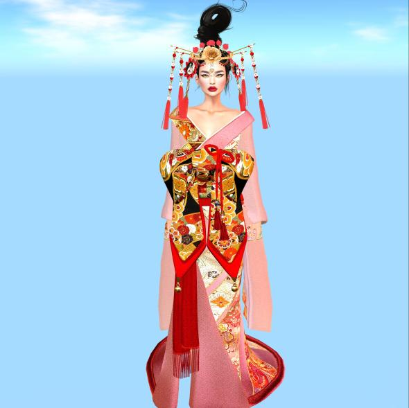CHINESE BRIDE FULL BODY desireme Fallen